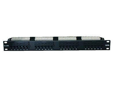 RJ45 Patch Panel Cat6 19'' 24 port