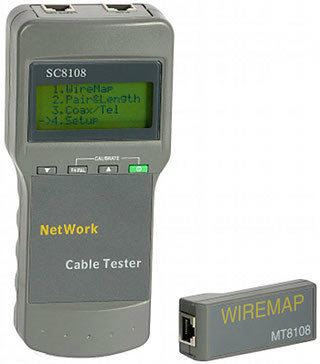 SC-8108 Digital Network Cable Tester