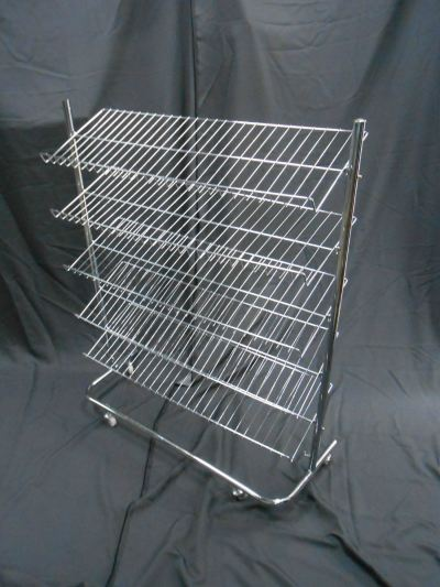 22109-HJ-18 SHOES RACK-5L CHROMED