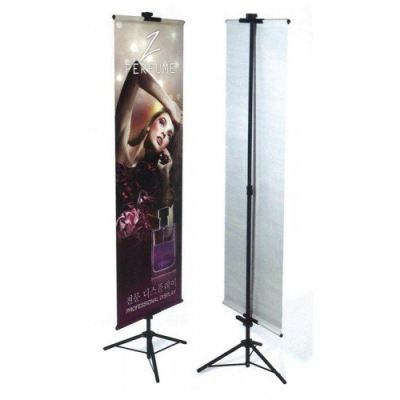 81011-Tripod Banner Stand