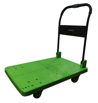 260004GN - Platform Trolley UDL 330Kg (Plastic) Hand Fold (Green)