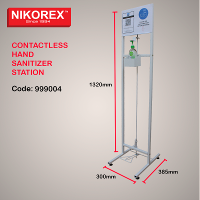 999004 - CONTACTLESS HAND SANITIZER STATION