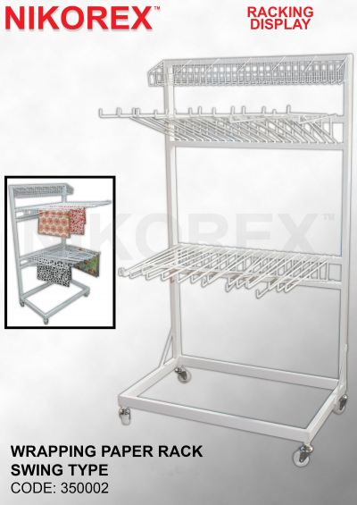350002 - WRAPPING PAPER RACK SWING TYPE