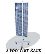 20402-3 Way Net Rack-1;quot;x2;quot;
