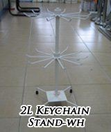 16179-2L Keychain Stand-WH