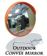 16088-600MM-Outdoor Convex Mirror-STAINLESS STEEL