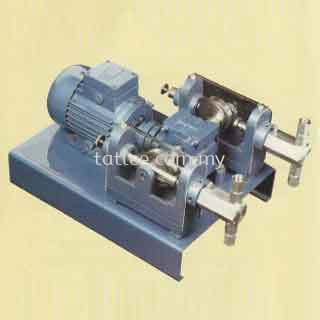 Duplex chemical dosing pump