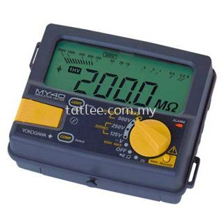 Yokogawa MY40 Digital insulation tester
