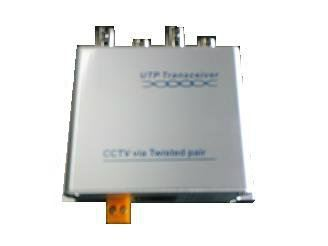 4 channel UTP video transceiver