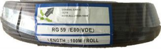 RG59 All-Link E80VDE Coaxial Cable RG59 Coaxial Cable Coaxial Cable