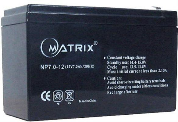 Matrix SLA Battery