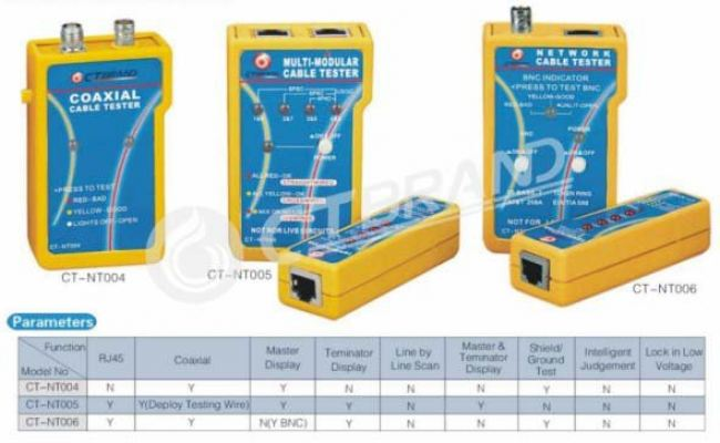 CTBrand Network Cable Tester Series NT006