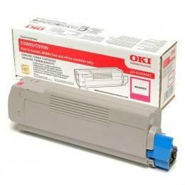 OKI ORIGINAL MAGENTA TONER CARTRIDGE (43324426) - COMPATIBLE TO OKI PRINTER C5550