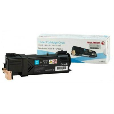 FUJI XEROX ORIGINAL CYAN TONER CARTRIDGE (CT201633) - COMPATIBLE TO FUJI XEROX PRINTER DOCUPRINT