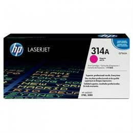 HP 314A ORIGINAL MAGENTA LASERJET TONER CARTRIDGE (Q7563A) - COMPATIBLE TO PRINTER 2700/3000