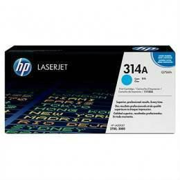 HP 314A ORIGINAL CYAN LASERJET TONER CARTRIDGE (Q7561A) - COMPATIBLE TO HP PRINTER 2700/3000