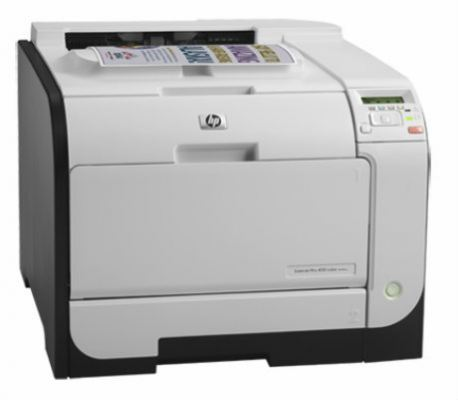 HP LaserJet Pro 400 Color Printer M451nw (CE956A)  A4 Single-function Duplex ePrint & AirPrint&#848
