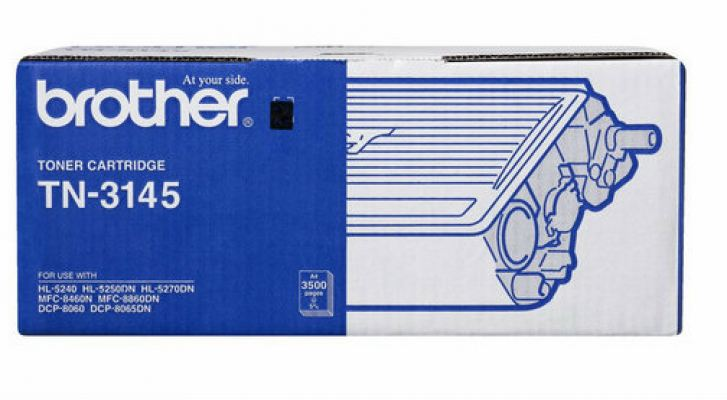 BROTHER TN-3145 ORIGINAL TONER CARTRIDGE - COMPATIBLE TO BROTHER PRINTER BROTHER MFC-8460N