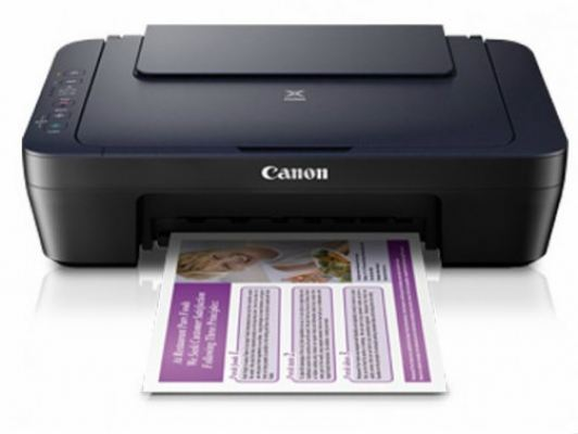 Canon PIXMA E460 - A4 3in1 Wireless Inkjet Printer