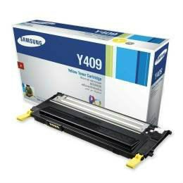 SAMSUNG CLT-409 ORIGINAL YELLOW TONER CARTRIDGE (CLT-Y409S) - COMPATIBLE TO SAMSUNG PRINTER CLP-315