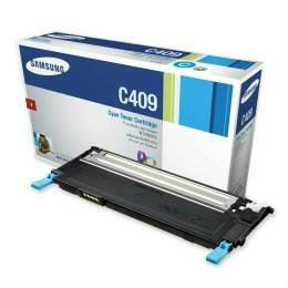 SAMSUNG CLT-409 ORIGINAL CYAN TONER CARTRIDGE (CLT-C409S) - COMPATIBLE TO SAMSUNG PRINTER CLP-315