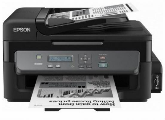 EPSON ALL-IN-ONE HIGH PERFORMANCE PRINTING IN BLACK AND WHITE M200