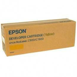 EPSON ORIGINAL YELLOW TONER CARTRIDGE (S050097) - COMPATIBLE TO EPSON PRINTER C900