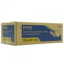 EPSON C2800 ORIGINAL YELLOW CARTRIDGE STANDARD CAPACITY (S051162) - COMPATIBLE TO EPSON PRINTER ACU