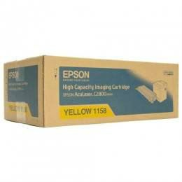 EPSON ORIGINAL YELLOW CARTRIDGE HIGH CAPACITY (S051158) - COMPATIBLE TO EPSON PRINTER C2800