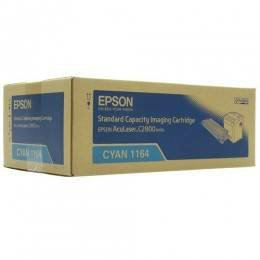 EPSON ORIGINAL CYAN CARTRIDGE STANDARD CAPACITY (S051164) - COMPATIBLE TO EPSON PRINTER C2800