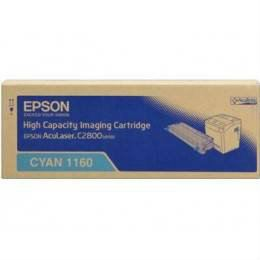 EPSON ORIGINAL CYAN CARTRIDGE HIGH CAPACITY (S051160) - COMPATIBLE TO EPSON PRINTER C2800