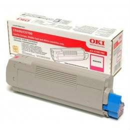 OKI ORIGINAL MAGENTA TONER CARTRIDGE (43381910) - COMPATIBLE TO OKI PRINTER C5600