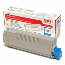 OKI ORIGINAL CYAN TONER CARTRIDGE (43381911) - COMPATIBLE TO OKI PRINTER C5600