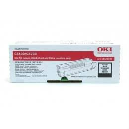 OKI ORIGINAL BLACK TONER CARTRIDGE (43324412) - COMPATIBLE TO OKI PRINTER C5600