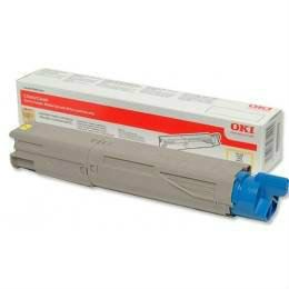 OKI ORIGINAL YELLOW TONER CARTRIDGE (43459453) - COMPATIBLE TO OKI PRINTER C3300N