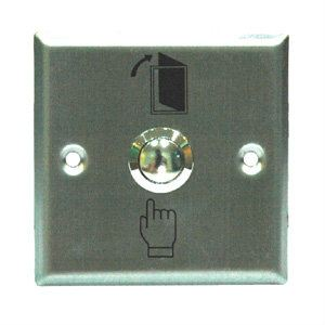 EBELCO Stainless Steel Exit Push Button ( DEB-33SS )