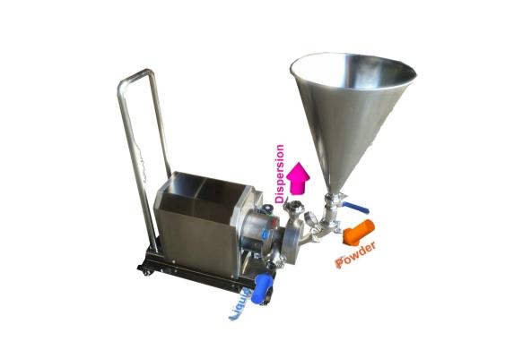 VT300PW-10 Powder Suction Inline Homogenizer ORDER CODE:7845100