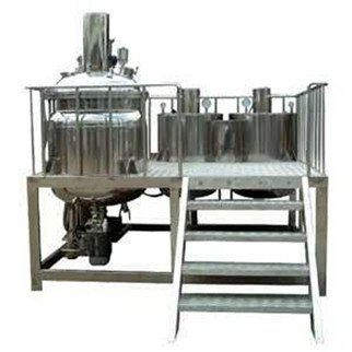 "DVH900-1000 ""Dyna Cosmo"" 100L Fix Types Vacuum emulsifier Mixers with Oil & Water Phase Tank ORDER CODE:8569200"