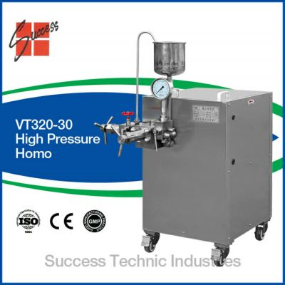 VT320-30-40 HIGH PRESSURE HOMOGENIZER CODE:43431000