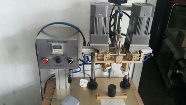 Semi auto capping machine