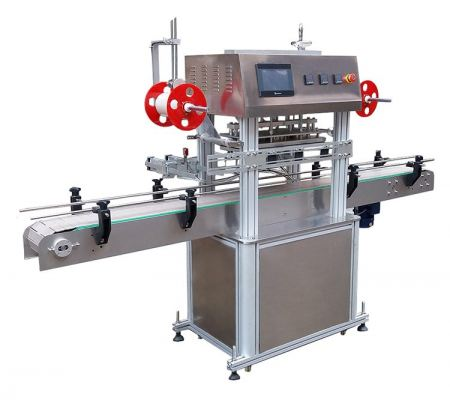 FP800-LD801 Line type Automatic Bucket/Jar/Bottle sealing machine