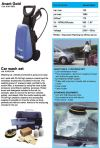 FASA COLD WATER HIGH PRESSURE CLEANERS