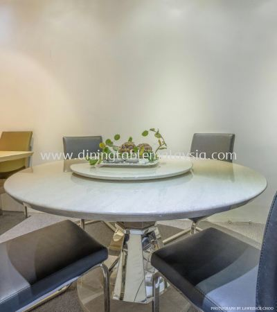 Light Marble Dining Table