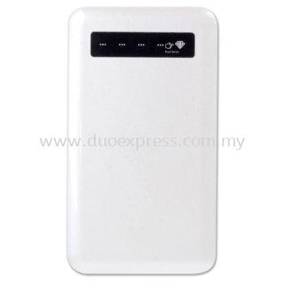 Ultra Slim Touch Screen Power Bank (4000mAh) - White