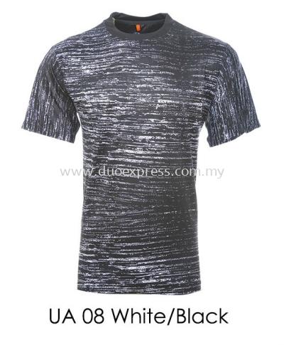 UA 08 White Black