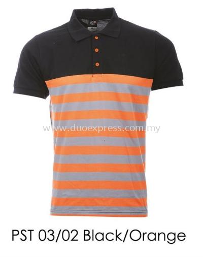 PST 03 02 Black Orange T-Shirt