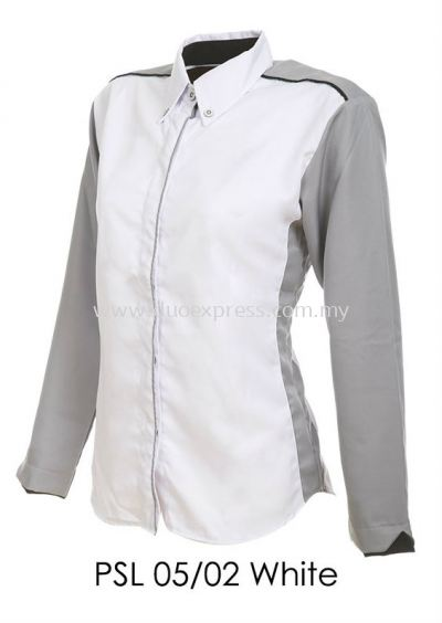 PSL 05 02 White Ladies Corporate Shirt