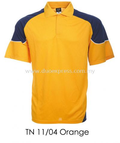 TN 11 04 Orange Collar T Shirt