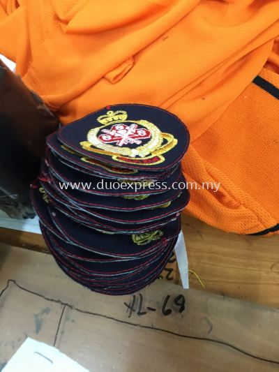 Security Guard Uniform Badges