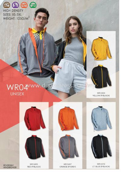 Windbreaker-Vest-Jacket WR-04